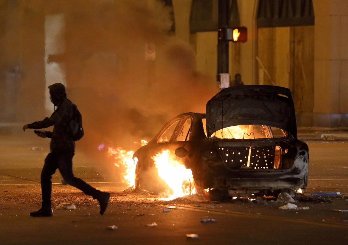 Downtown St. Louis riot