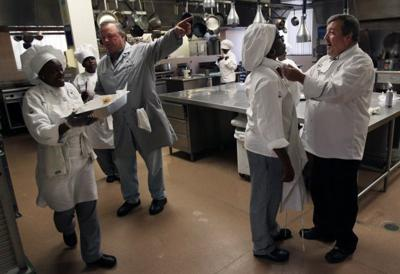 Culinary program for ex-offenders