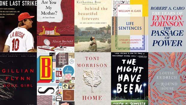 Favorite Books, 2012