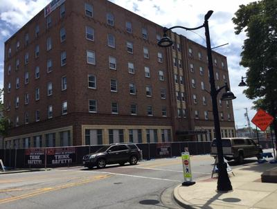 Holland Construction Begins Renovations on Historic Lofts on the Square Project.