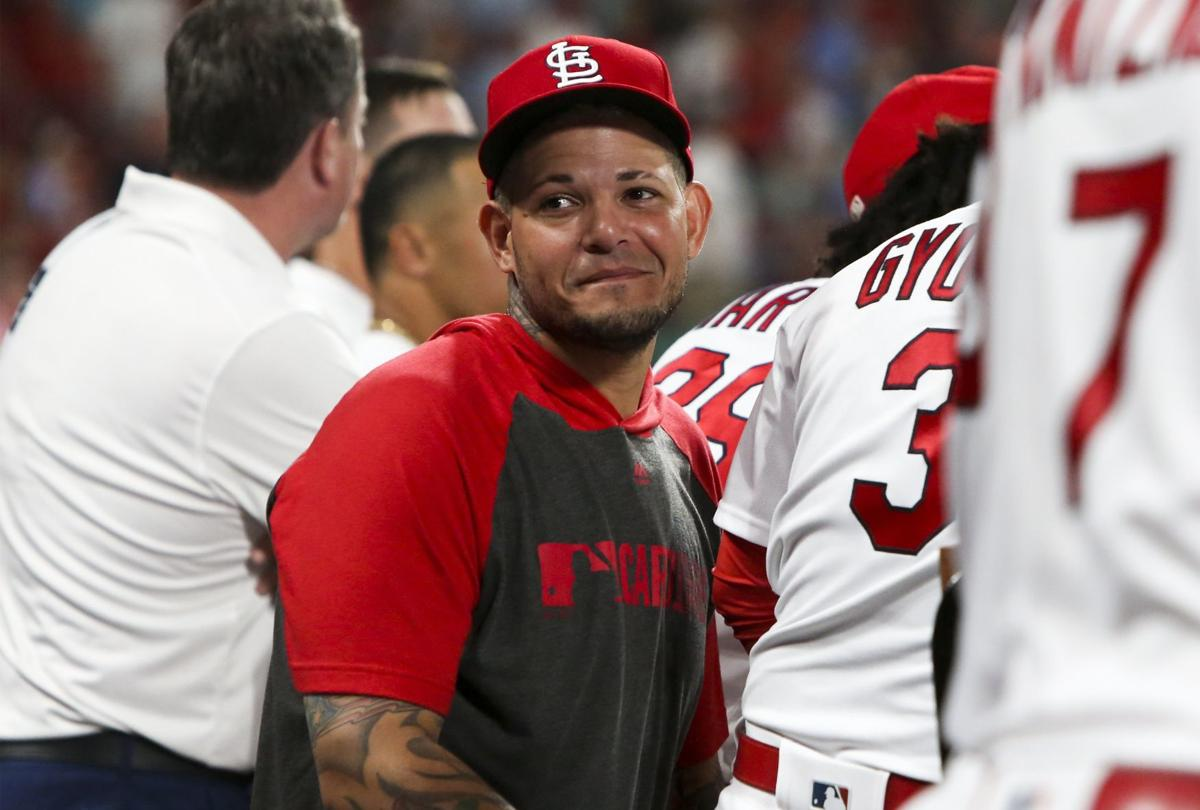Cards notebook: Molina heads to IL, could miss 3 weeks; Carp returns; Reyes not progressing