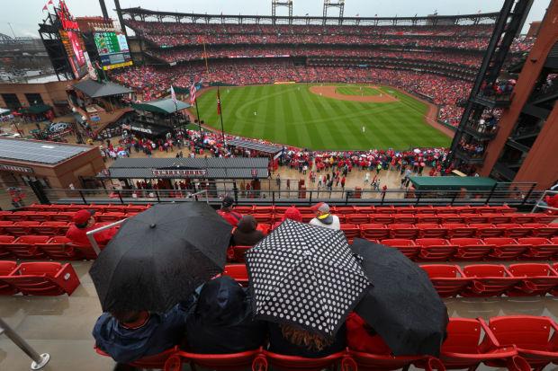 Cards Fans Feel Like Winners Atop Ballpark Village For Home Opener