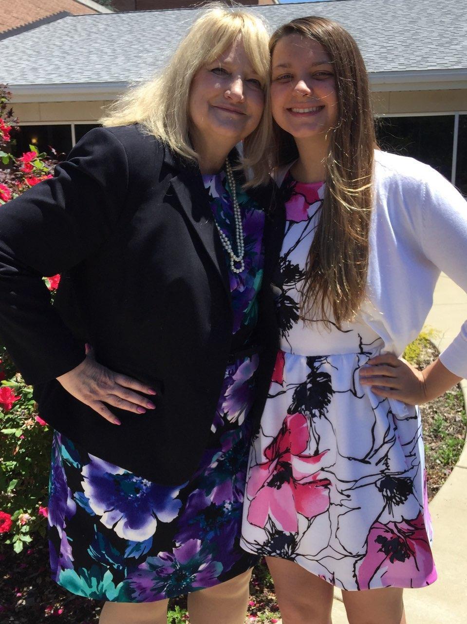 Victoria Hulslander and Nancy Hulslander