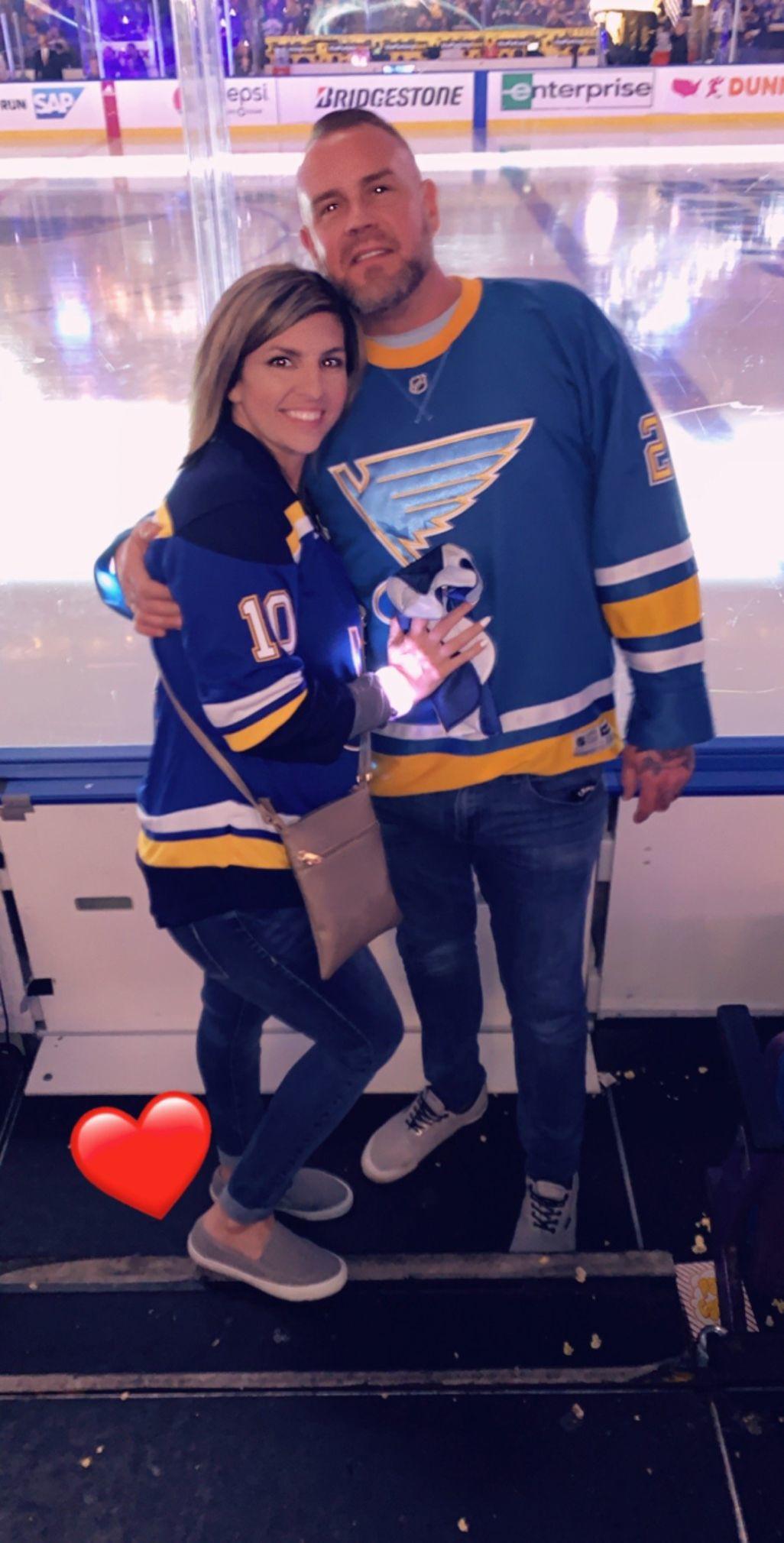 Michael Langsdorf and fiancée