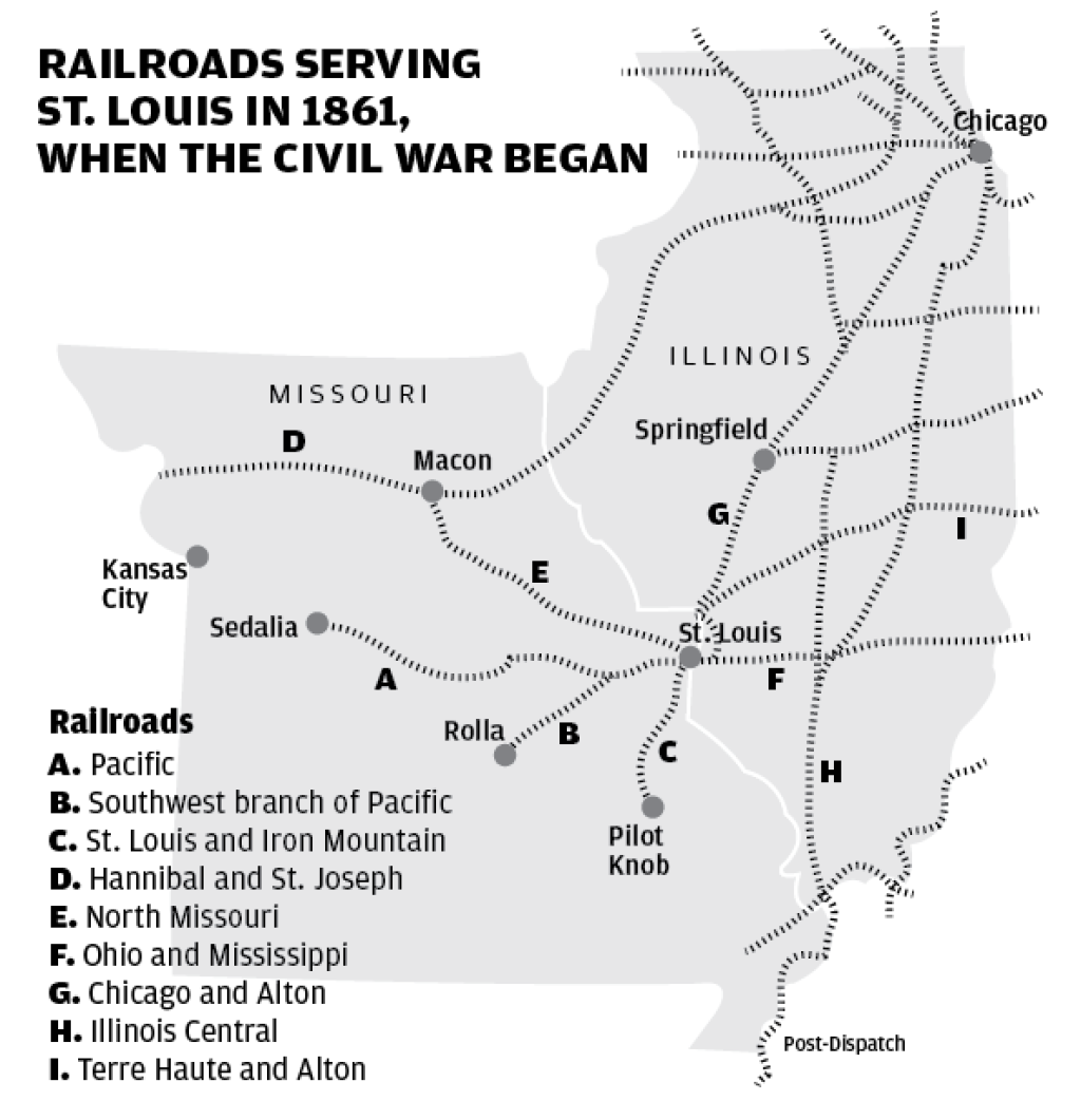 Look Back 250 • St  Louis hustles to join railroad rage