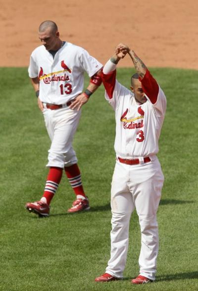 Felipe Lopez and Brendan Ryan
