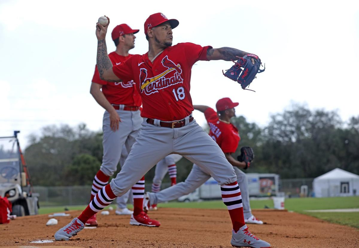 Thursday workout at Cardinals spring training