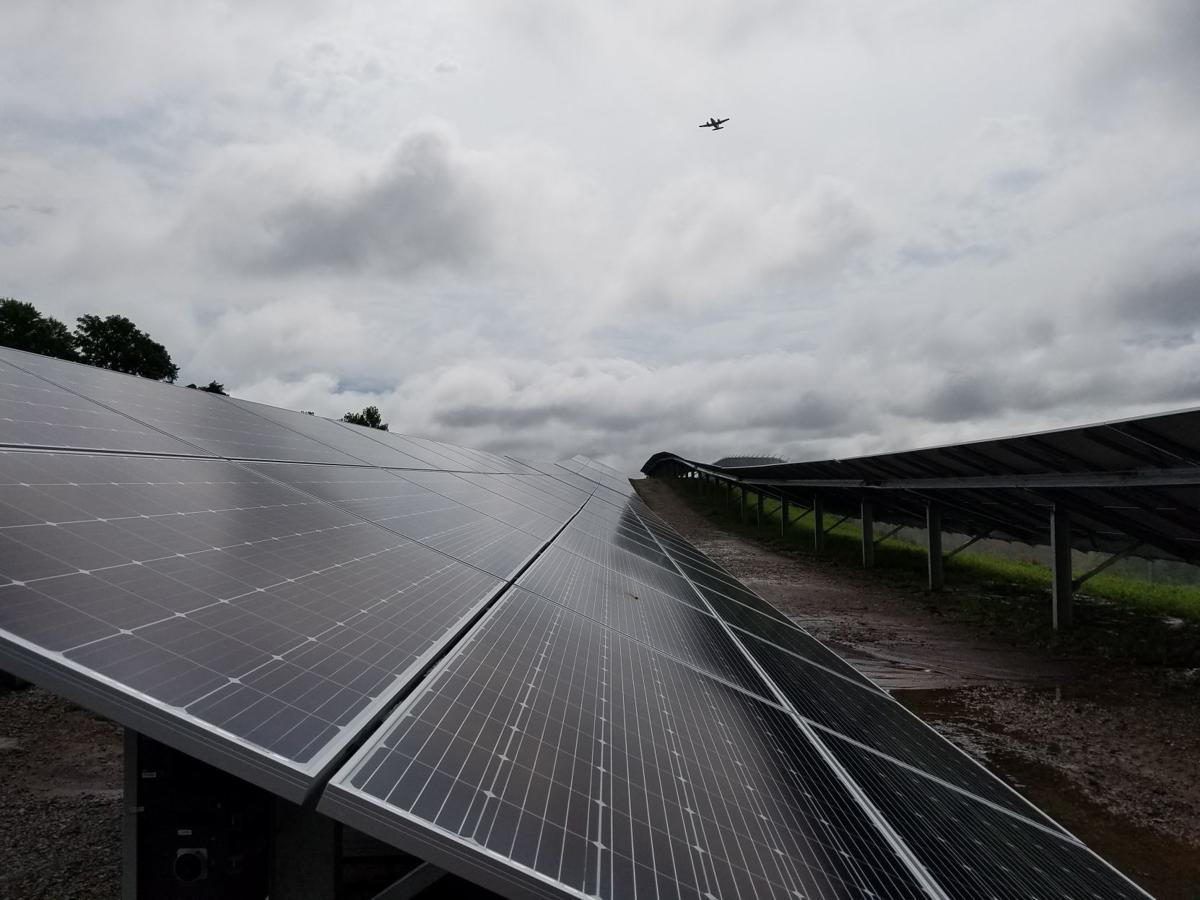 Ameren's community solar project at St. Louis Lambert International Airport
