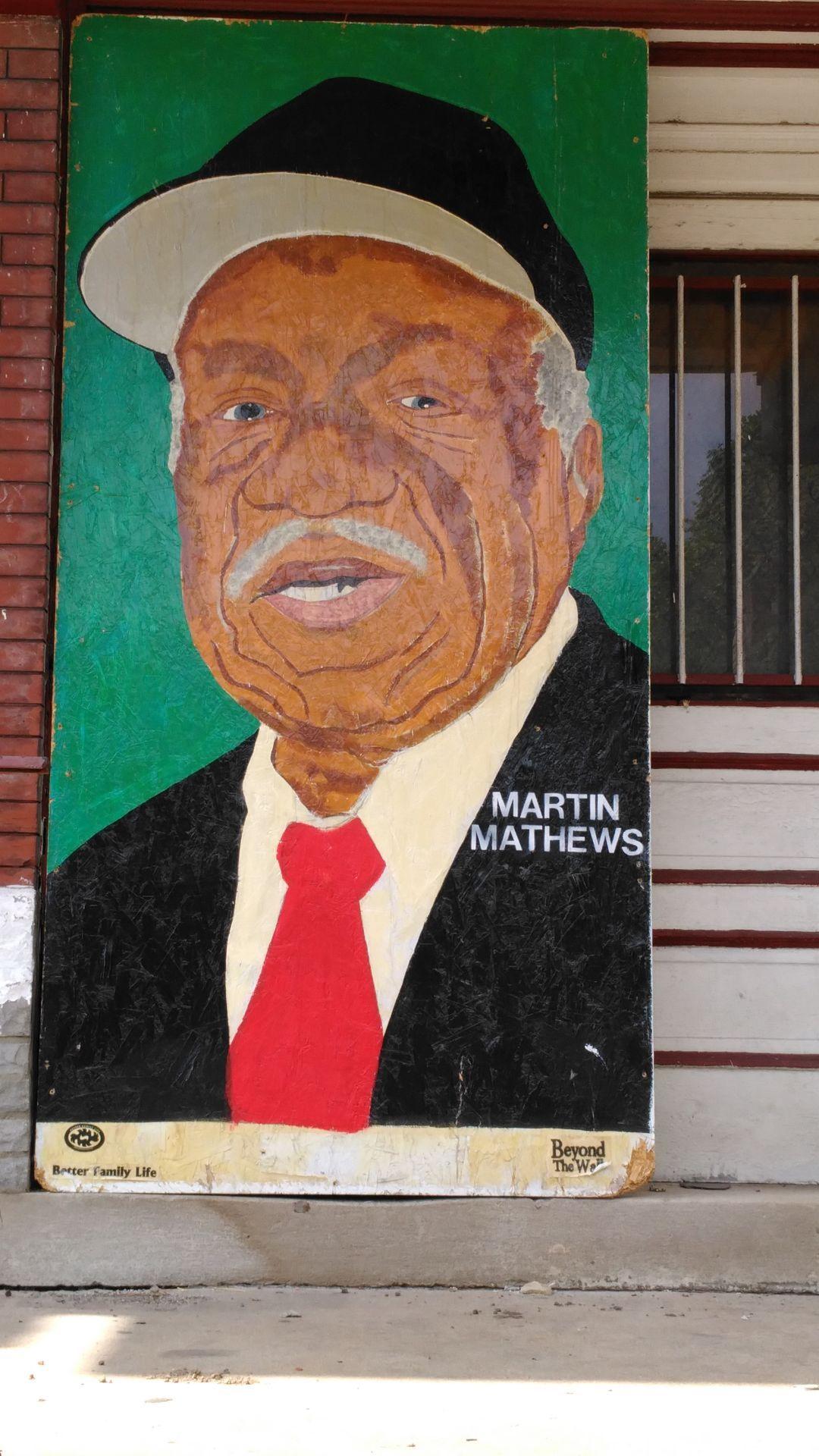 Page Boulevard Murals Martin Matthews