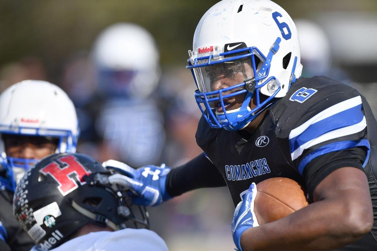 Highland at Cahokia football