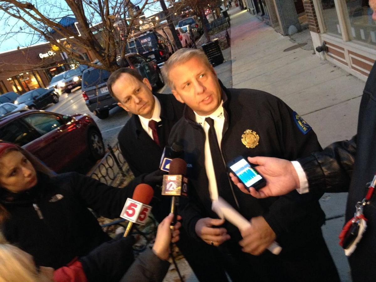 Dotson says criminals used cover of protests to loot