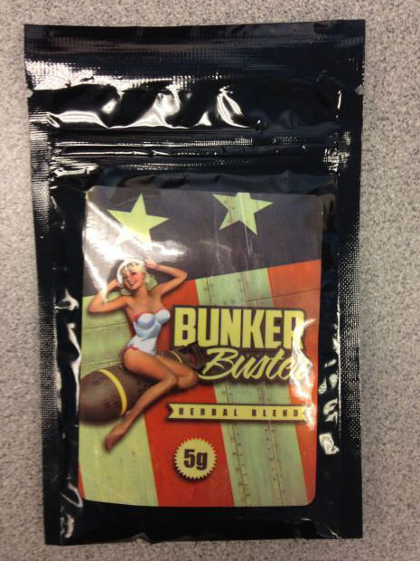 Bunker Buster, one of the synthetic drugs seized by authorities