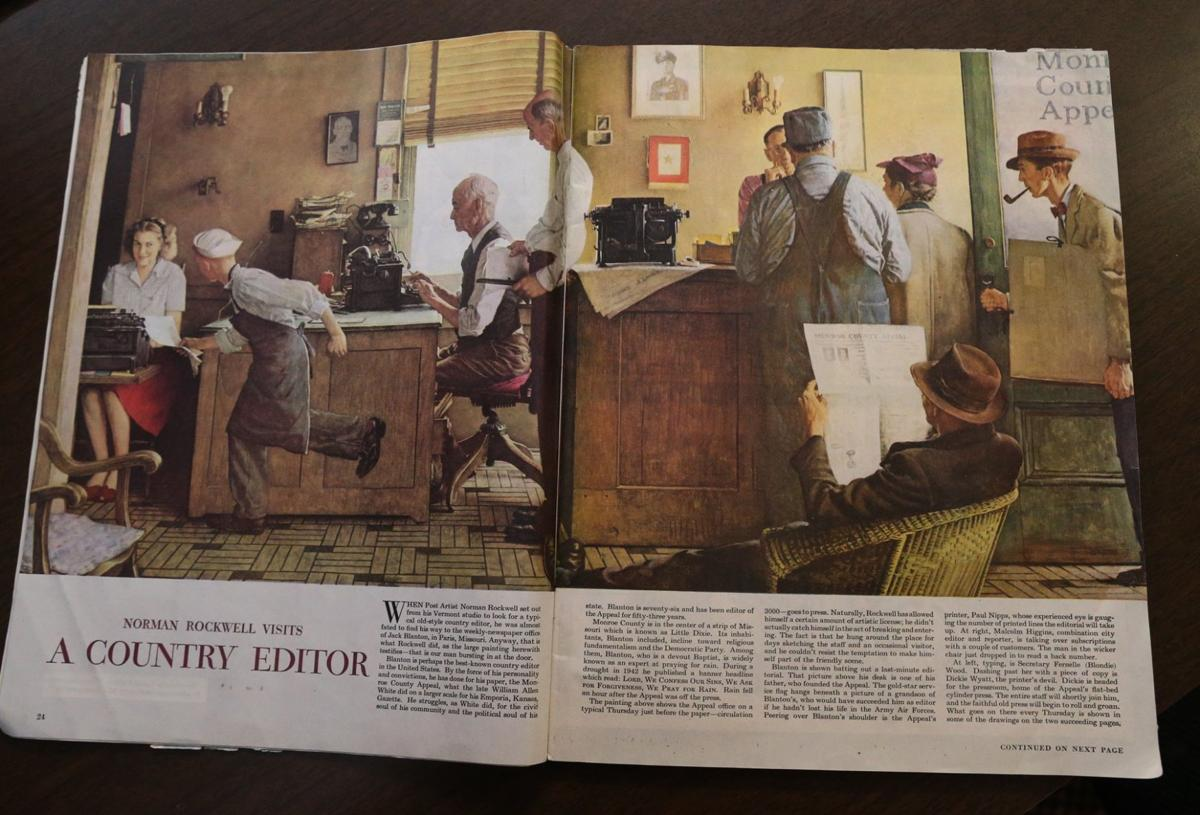 Missouri newspaper inspired Norman Rockwell painting