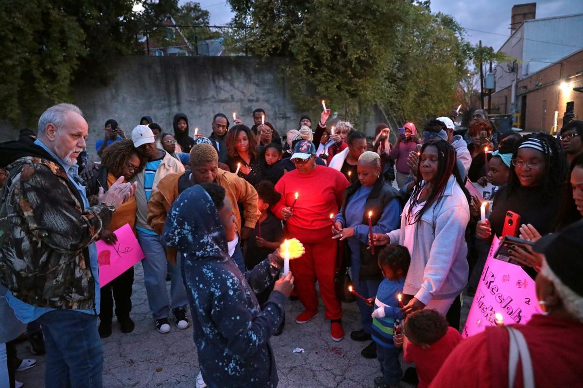 """Vigil for Akeelah """"Ke Ke"""" Jackson"""