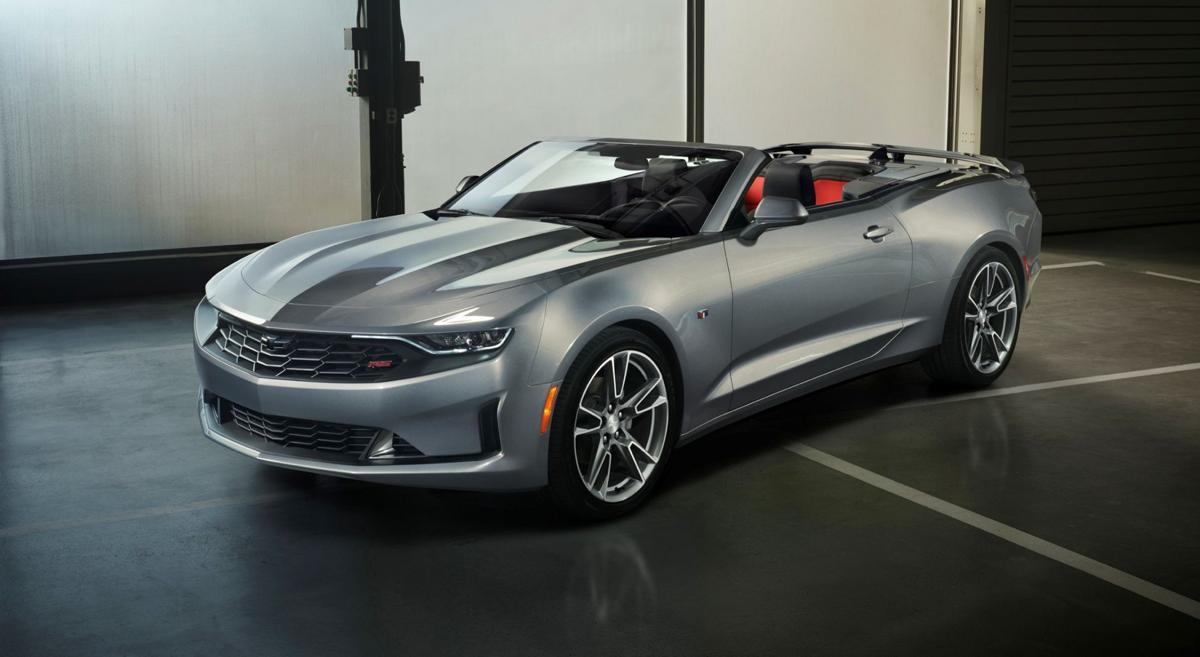 2019 Chevrolet Camaro A look to the future with a nod to ...