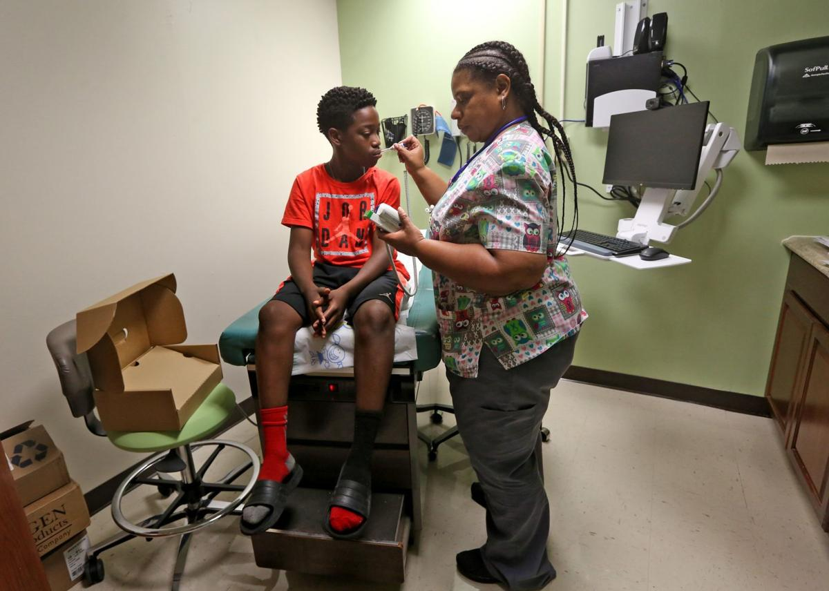 New health clinic opens at Normandy High School