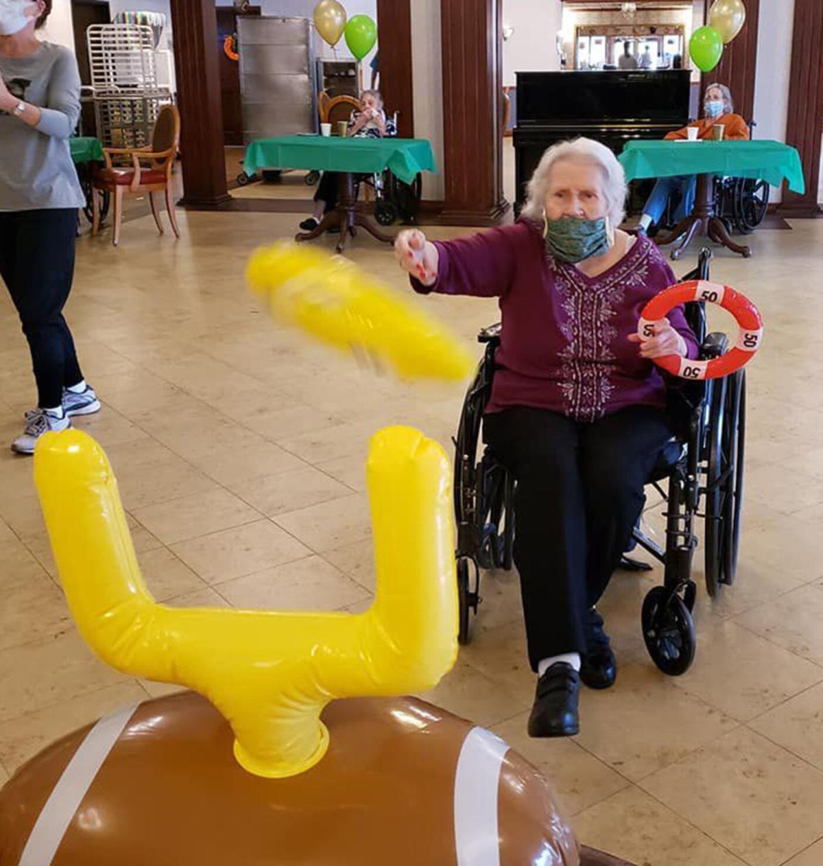 Nursing home entertainment