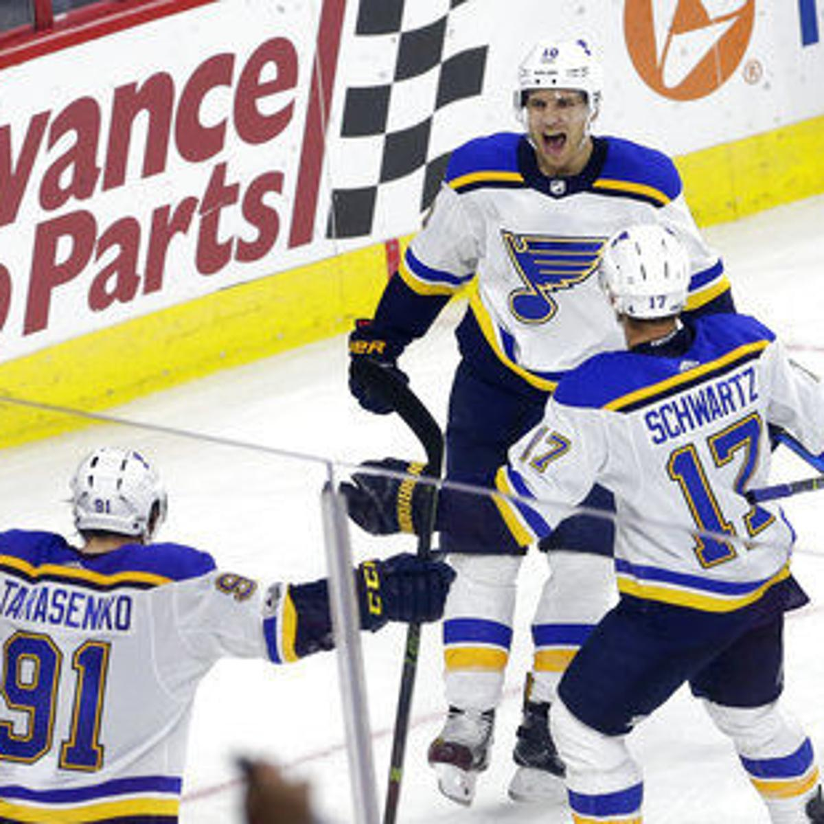 Yeo turns to last resort for the Blues   St  Louis Blues