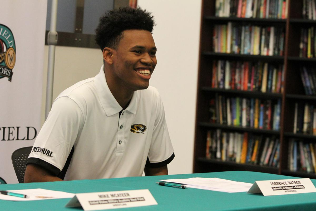 Whitfield Signing Day