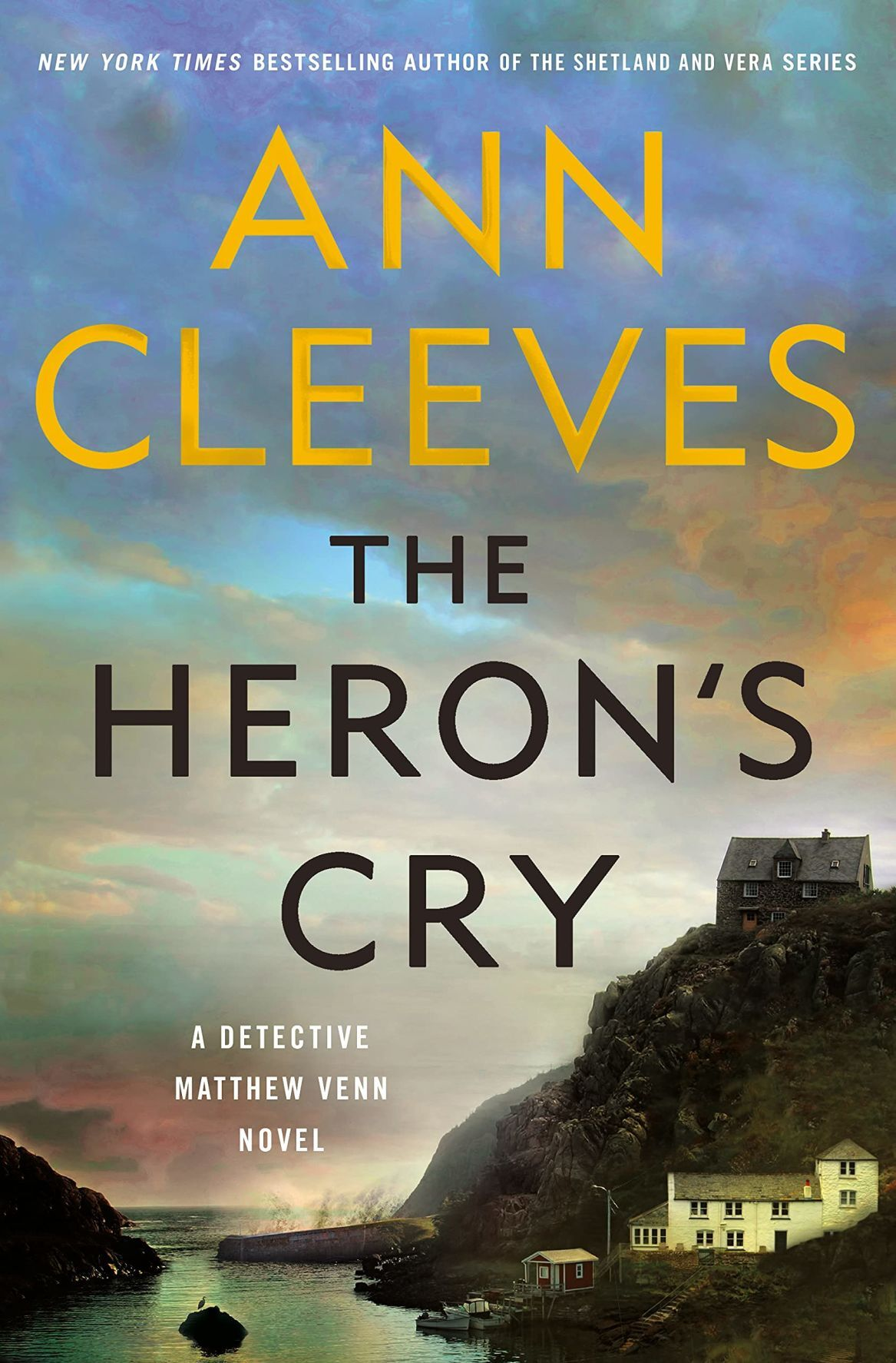 """Ann Cleeves and """"The Heron's Cry"""""""