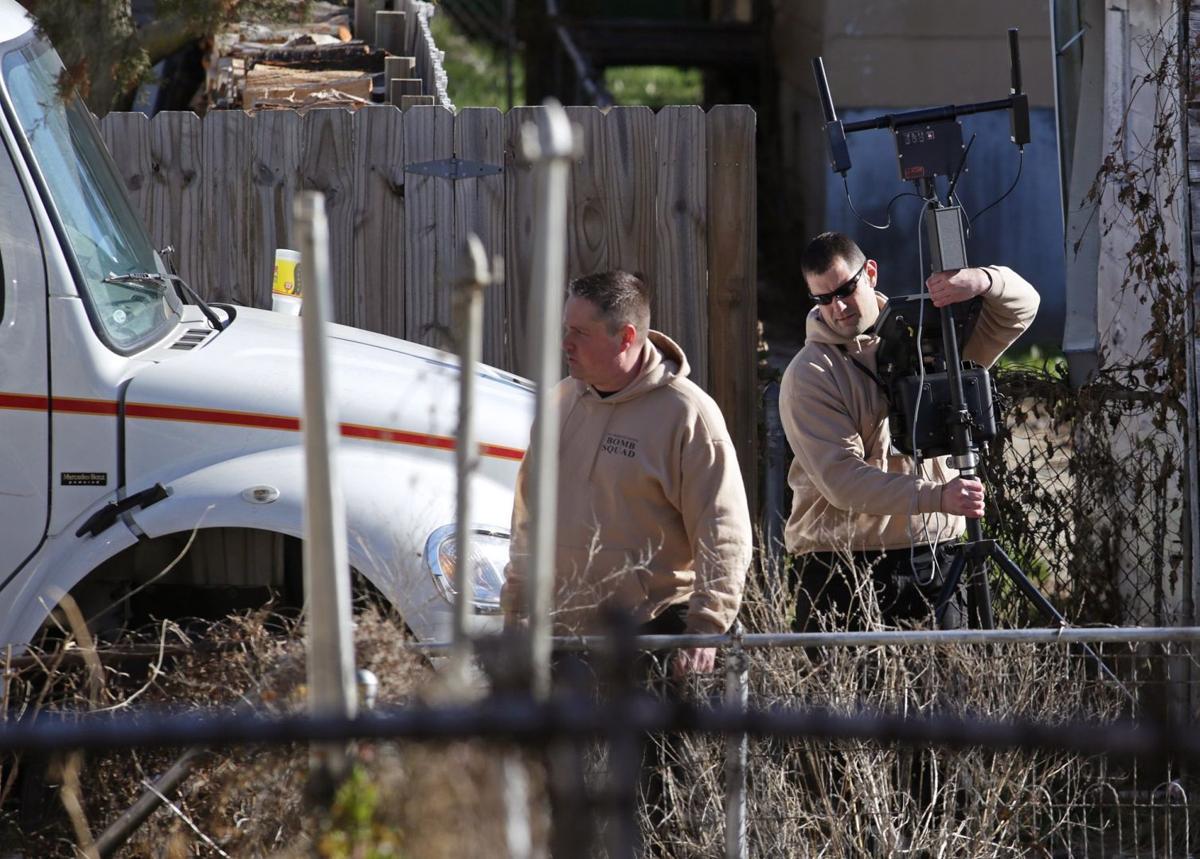 Searching the homes of David Michael Hagler