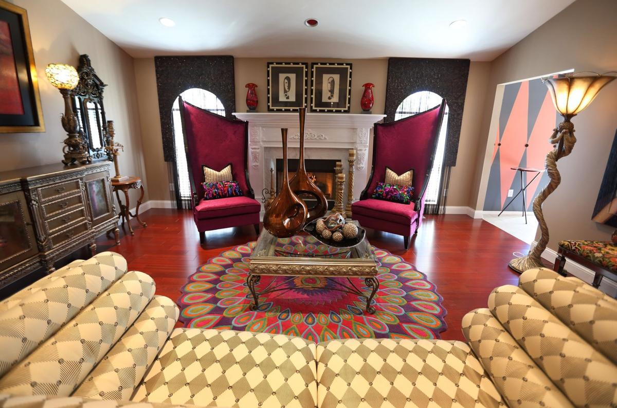 Interior Designers Fun Flashy Home Featured On Lindbergh Holiday House Tour