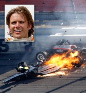Horrific crash kills Indy 500 champ Wheldon   Sports   stltoday com