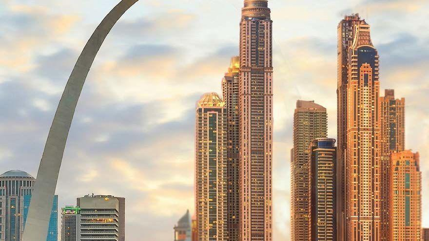 St. Louis is doubled in science fiction novel 'A Universe Less Traveled'