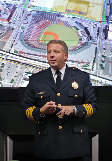 St. Louis Police Chief Sam Dotson