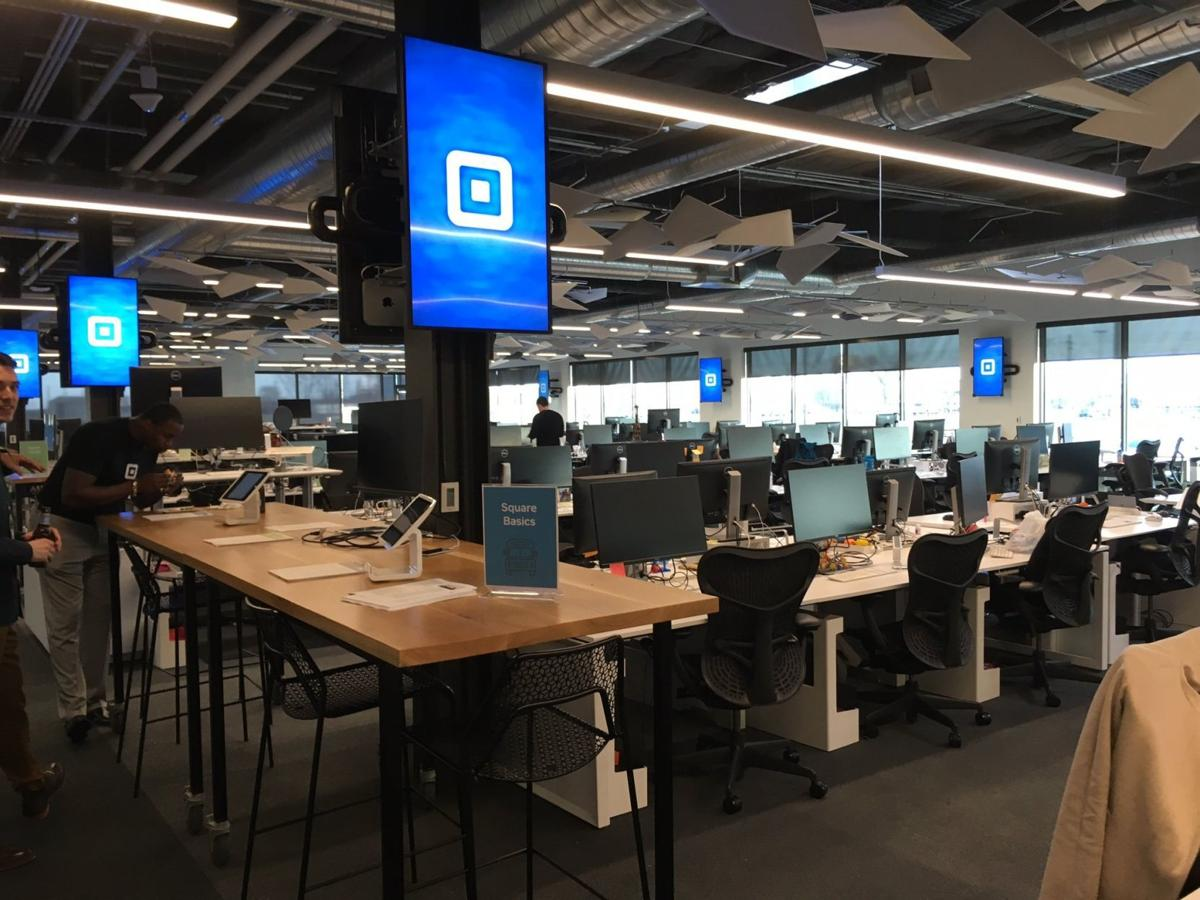 Square office at Cortex