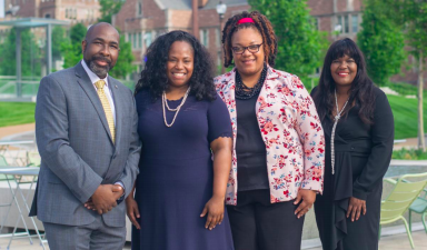 Dr. Dedric Carter, Vice Chancellor of the Office of Operations and Technology Transfer for Washington University, Anika D. Porter, President of Lifespiration LLC, Janelle Turner, Director of Supplier Diversity