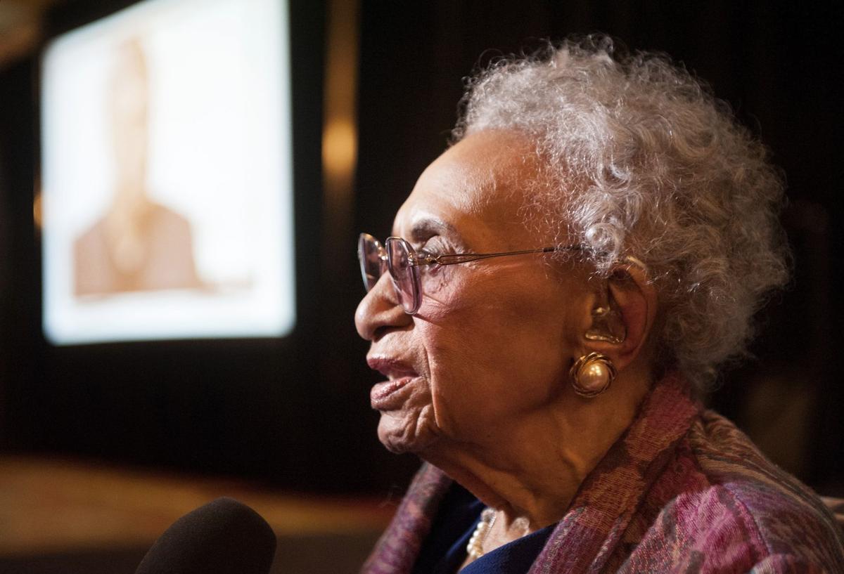 Civil rights attorney Frankie Muse Freeman celebrates 100th birthday