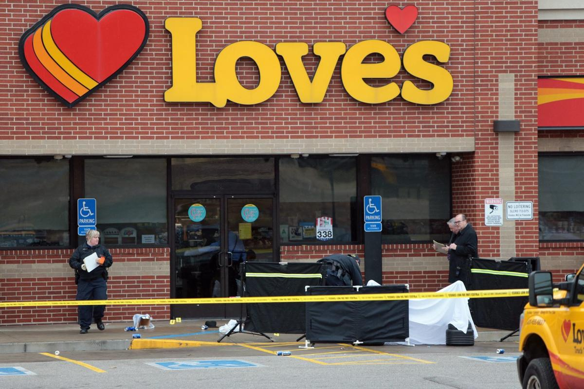 Shooting at Love's in North Riverfront leaves one man dead