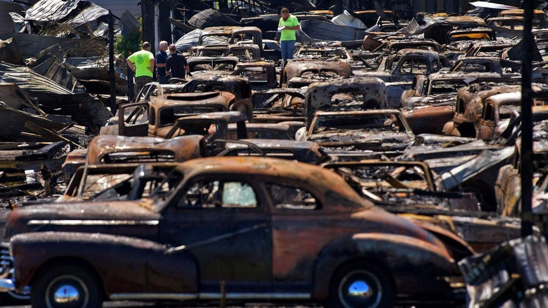 Video: Staunton\'s Country Classic Cars owner reflects on fire damage ...