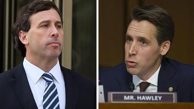 Steve Stenger and Josh Hawley