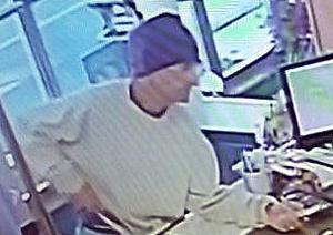 Polizei sucht Mann, der ein Messer, um rob Reinigungskräfte in Kirkwood