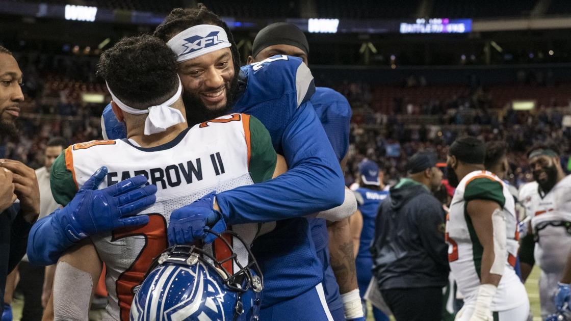 Hochman: Getting NFL's attention is goal for BattleHawks' McCoil, teammates