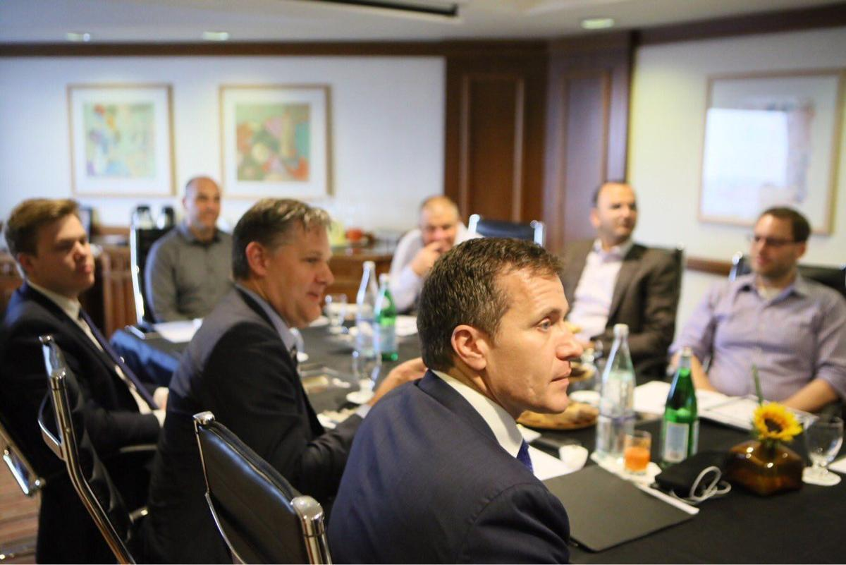 Governor Eric Greitens visits Israel