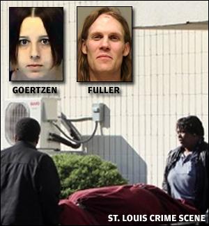 Goertzen, Fuller, murder scene