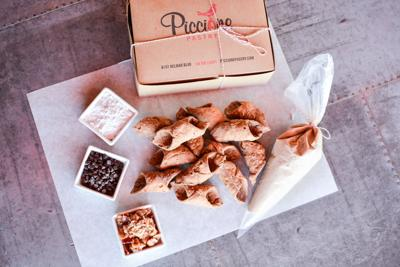 DIY Maple Bacon Cannoli Kits