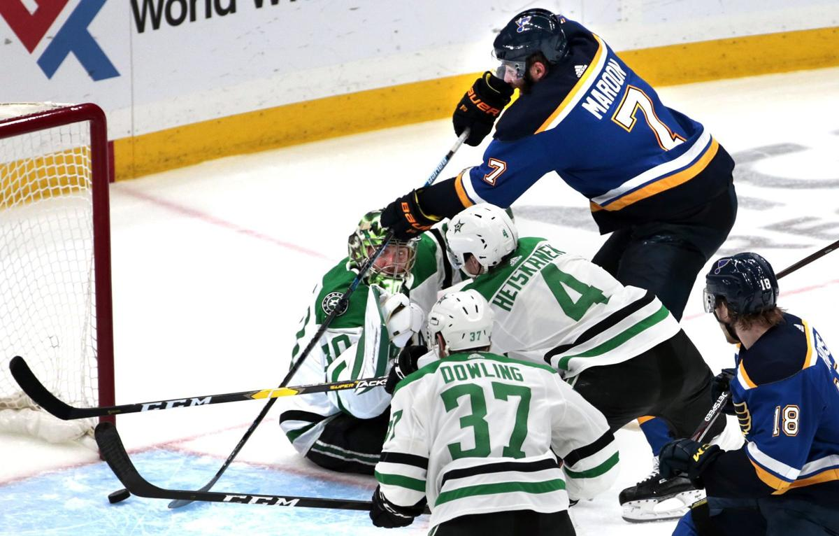 Blues, Stars in deciding Game 7