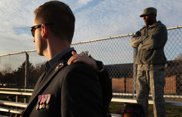 Marine struggles with life after war
