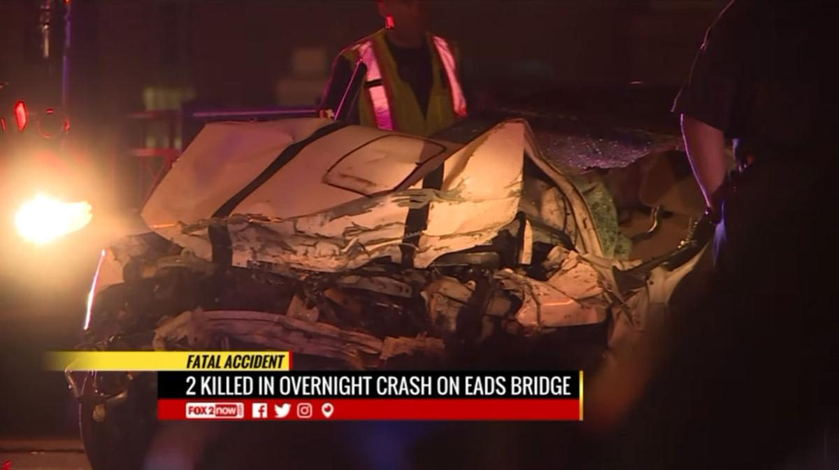 Crash on Eads Bridge