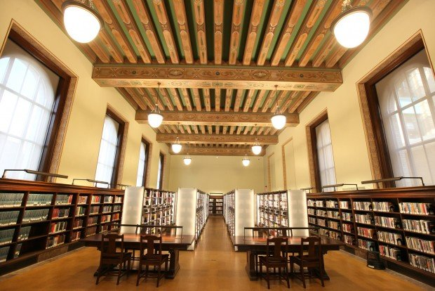 Restored Central Library Mixes Old And New In Downtown St
