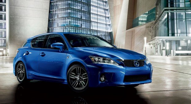 Superb 2013 Lexus CT 200h F Sport
