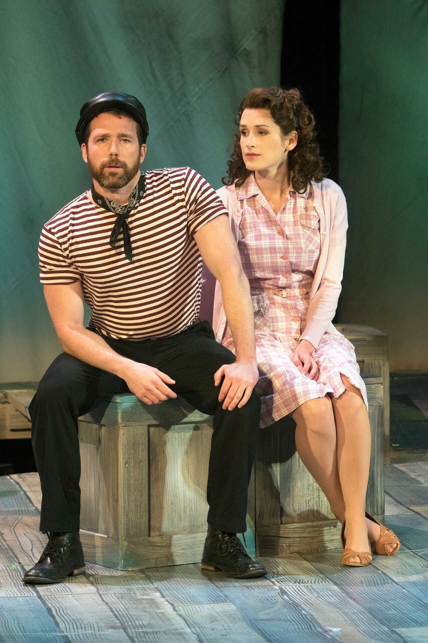 Wes Mason and Maria Lindsey in 'Carousel' at Union Avenue Opera