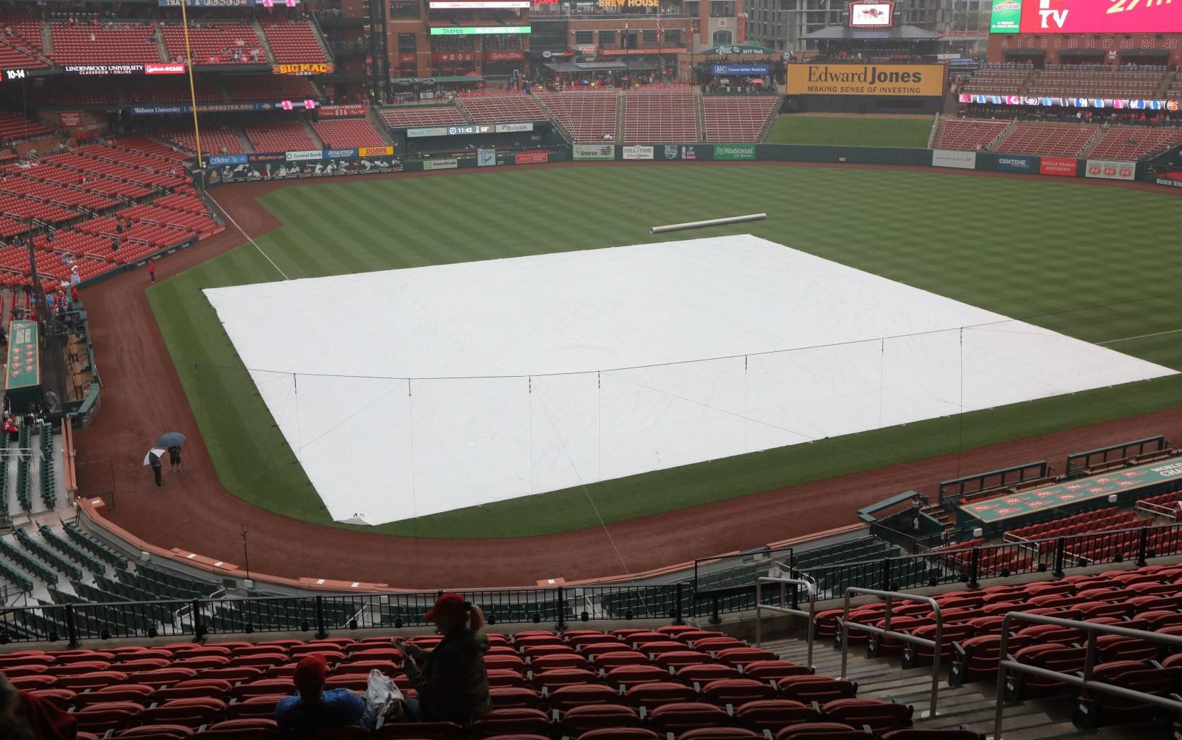 All eyes on Blues as Cards call off game; Wacha and Waino pitch Wednesday