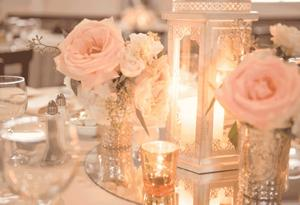 Rose of the Hill Centerpiece
