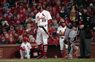 Cardinals, Nationals open NLCS at Busch