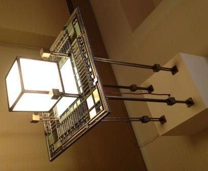 Ceiling Lamp, by Frank Lloyd Wright